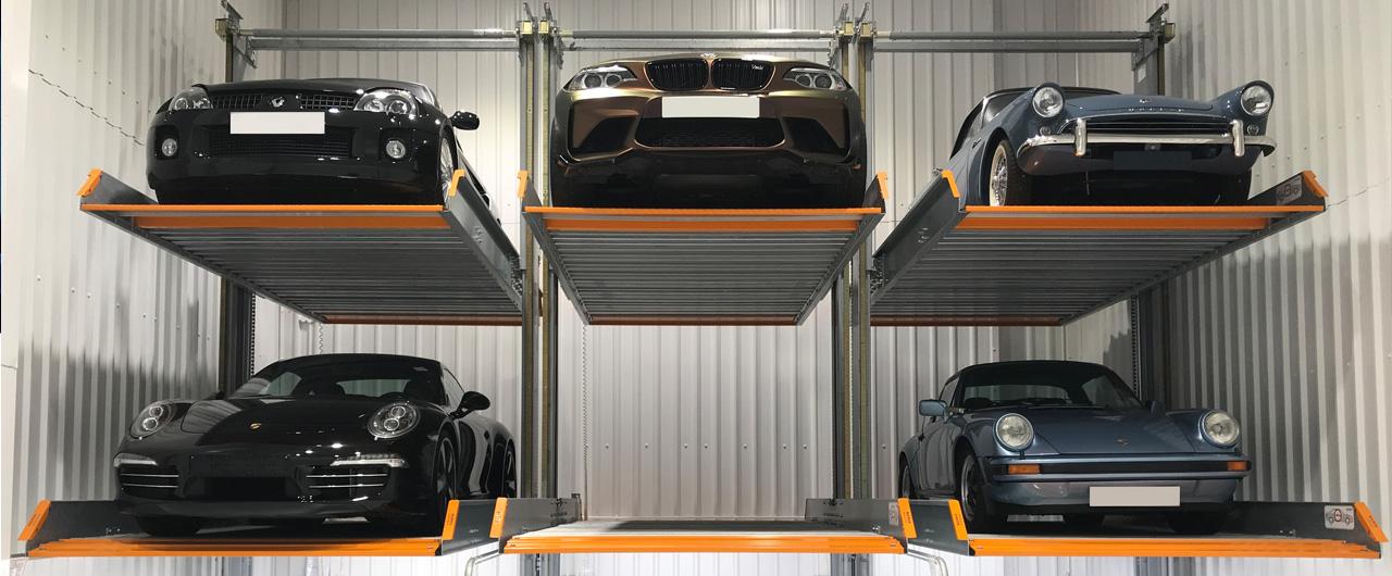 3015   Stack Parking System - KLAUS Multiparking