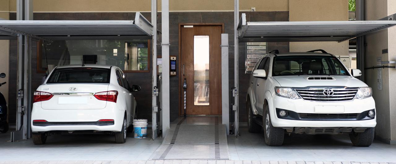 G-61M | Stack Parking System - KLAUS Multiparking