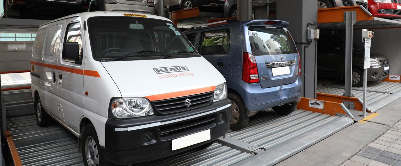 G-63 | Stack Parking System - KLAUS Multiparking