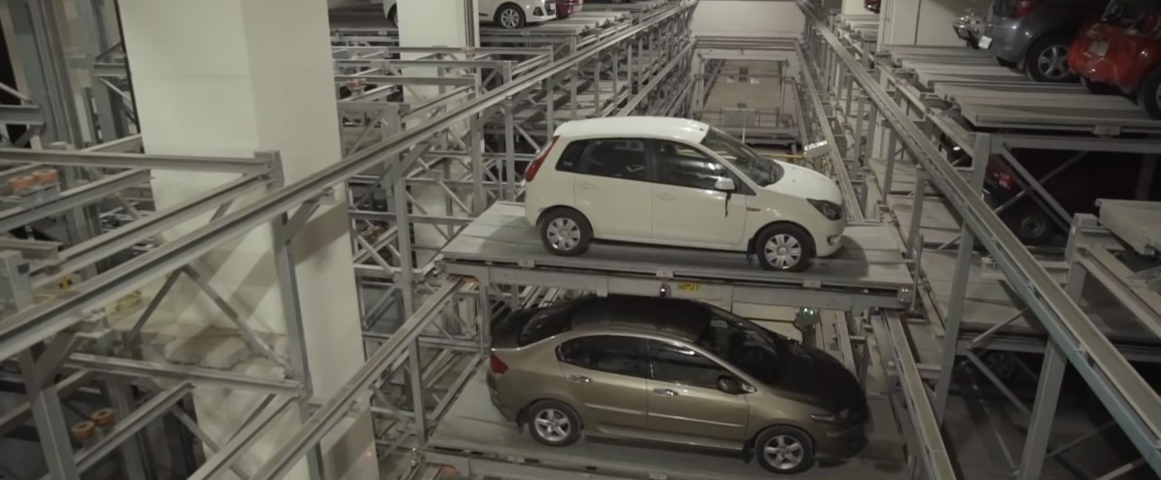 Fully-automatic Tower Parking System - KLAUS Multiparking